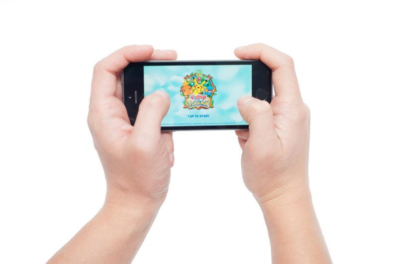 Pavlograd, Ukraine - October 31, 2014: Pokemon Camp is the application will include games and quizzes, among other things.