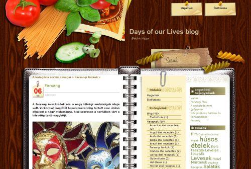 Életünk napjai blog